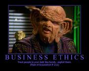 Ferengi-ethics