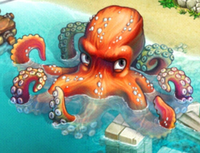 Giant Octopus Tribez Wiki Fandom Powered By Wikia