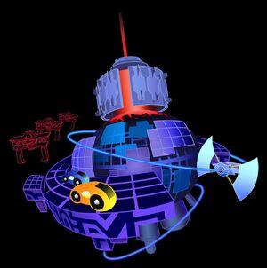 Space Paranoids (world)