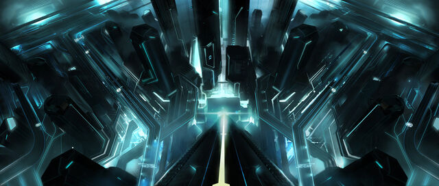 File:Tron legacy under the tower by vyle art-d3878ux.jpg
