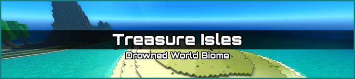 Treasure Isles biome banner