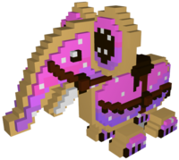 Pink Cookiephant Model