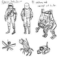 Cyberian Tamer concept