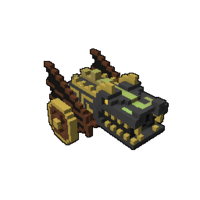 Pirate Cannon Model