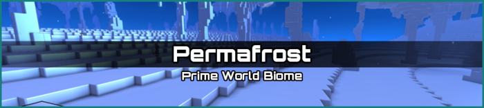 Permafrost biome banner