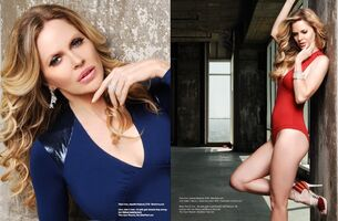 Kristin Bauer 2012 Mag Spread
