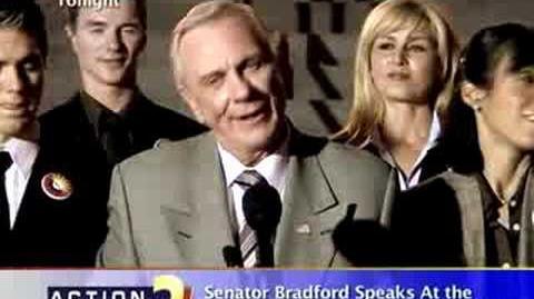 Sen. Bradford at D.C