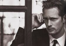 Alex vogue july Alexander Skarsgård Goes Sexy for Vogue