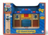 WoodenRailwayAllAboardStationElsbridgeBox