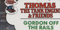 Gordon Off the Rails (Buzz Book)