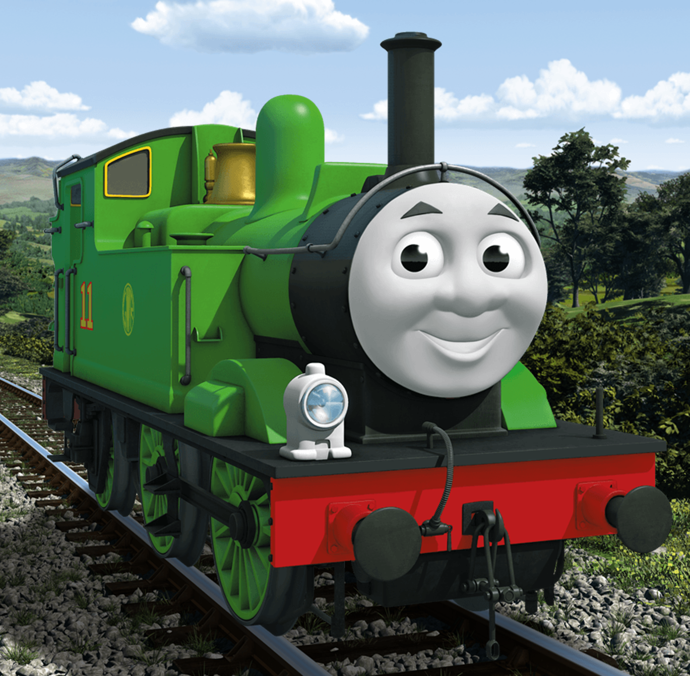 It's just a guess, based on Duck having a white footplate even though ...