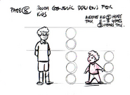 Kids 08 CGI Sketch Design