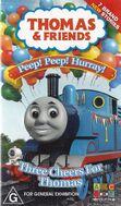 Peep!Peep!Hurray!ThreeCheersforThomasAustralianVHScover