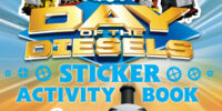 Day of the Diesels: Sticker Activity Book