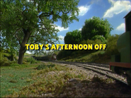 Toby'sAfternoonOffTVtitlecard