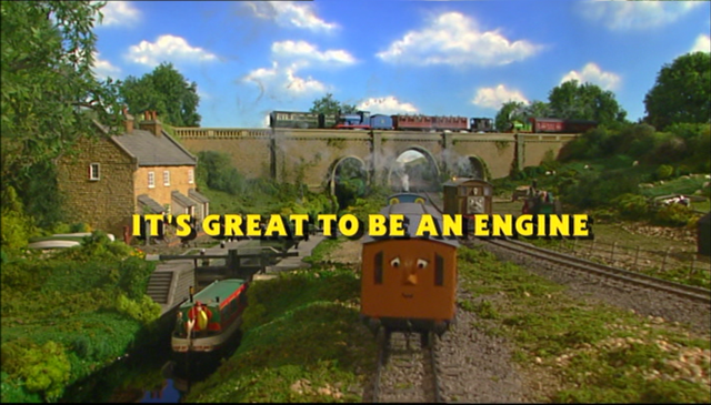 File:It'sGreattobeanEngine!Titlecard.png