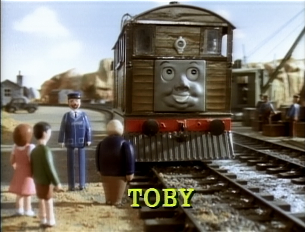 Image - Toby'sNamecardTracksideTunes2.png | Thomas the Tank Engine ...