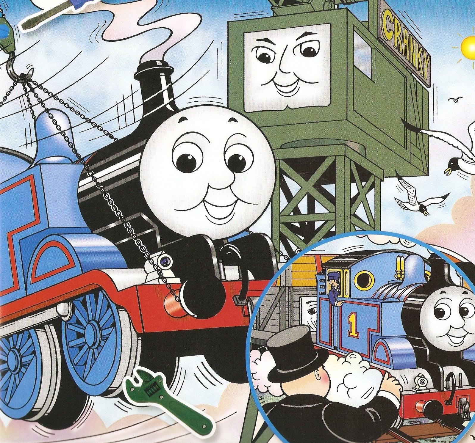 Swing King Cranky | Thomas the Tank Engine Wikia | Fandom ...