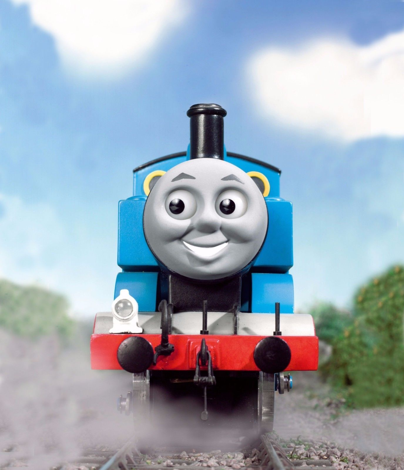 This is an image of Slobbery Thomas the Train Logo