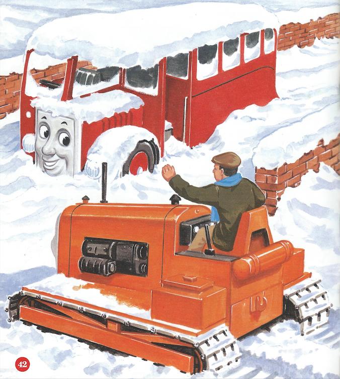Bertie the Snow Bus
