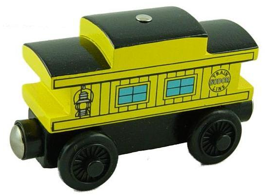 File:WoodenRailwayYellowSodorLineCaboose.png