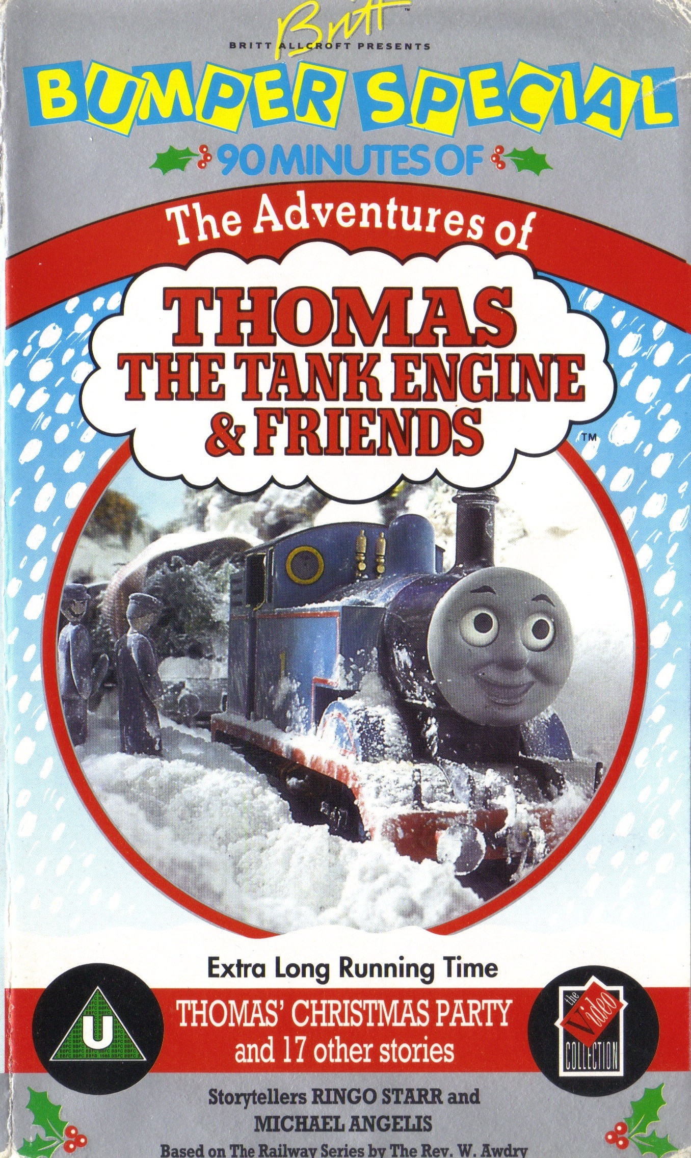 thomas 39 christmas party and 17 other stories thomas the tank engine wikia fandom powered by. Black Bedroom Furniture Sets. Home Design Ideas