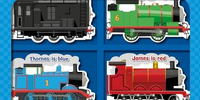 Colourful Little Engines