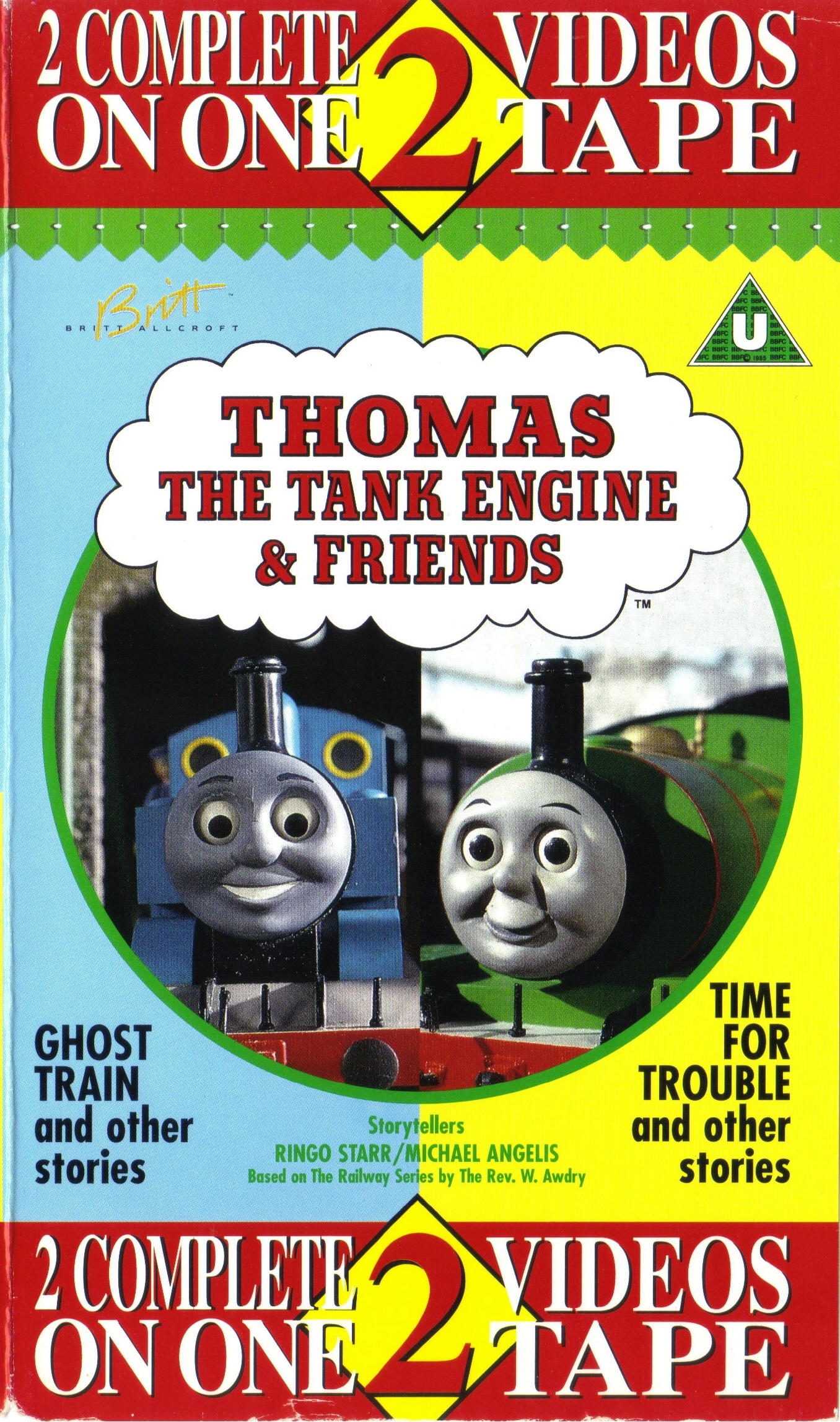 ghost train and other stories time for trouble and other stories thomas the tank engine wikia. Black Bedroom Furniture Sets. Home Design Ideas