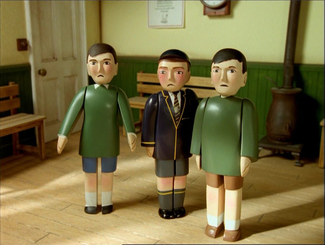 minor human characters in the railway series thomas the