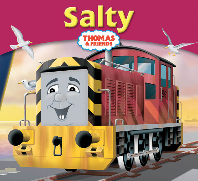 Salty Story Library Book Thomas The Tank Engine Wikia The Tank Coloring Pages