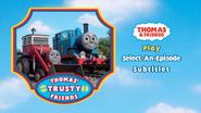 Thomas'TrustyFriendsUKDVDMenu