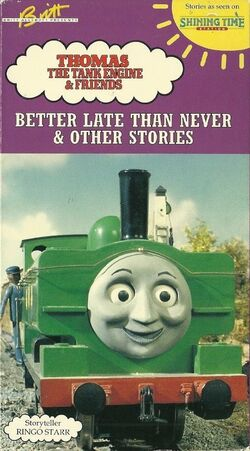 Better Late Than Never and Other Stories - Thomas the Tank ...
