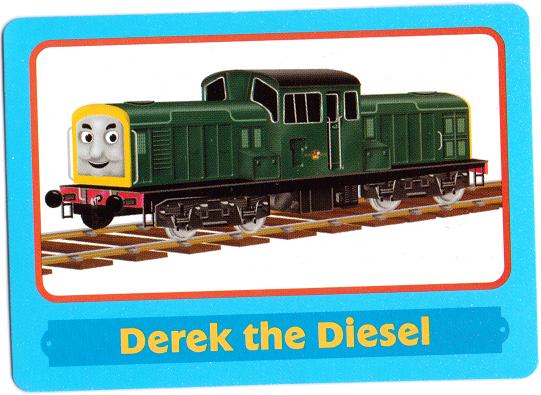 Image Derektradingcard Png Thomas The Tank Engine