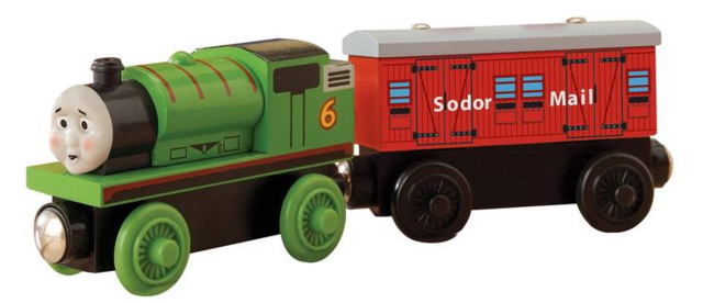 File:WoodenRailwayHardatWorkPercywithMailTruck.PNG