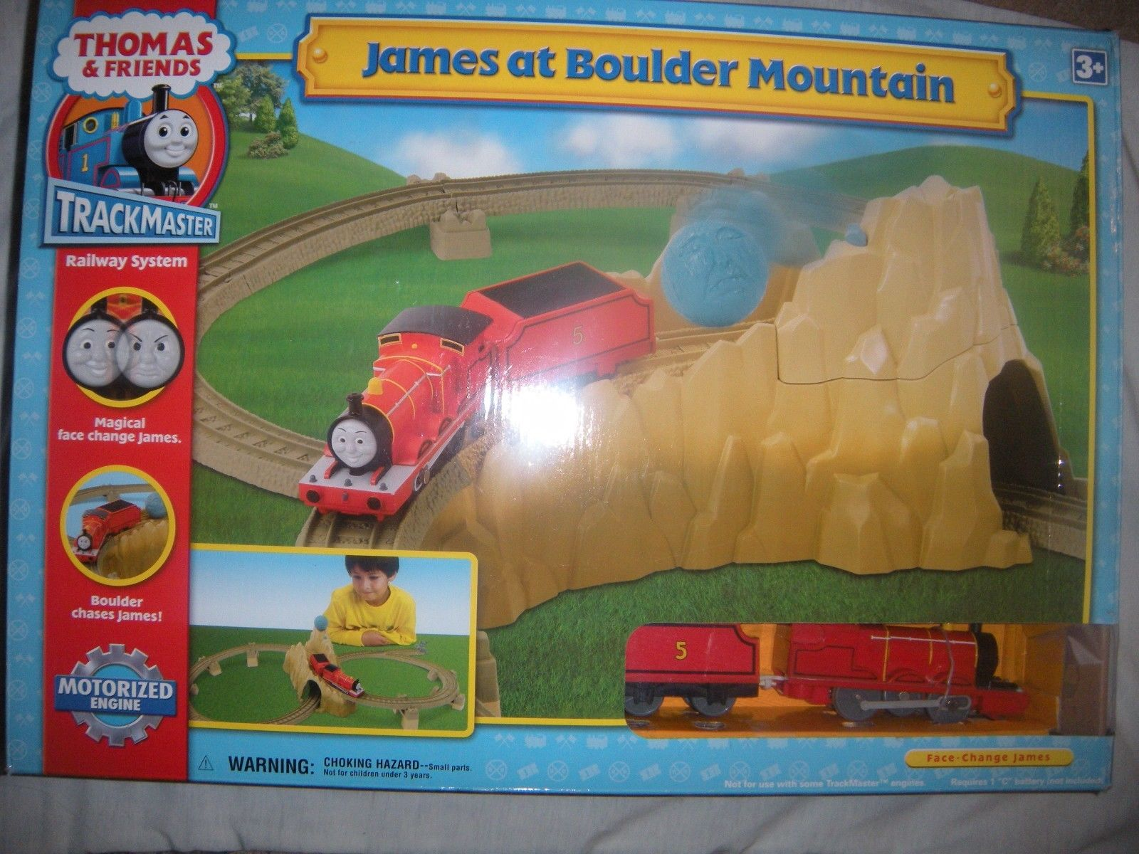 James At Boulder Mountain Thomas And Friends Trackmaster
