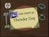 Thunder Dog Title Card