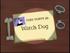 Watch Dog Title Card