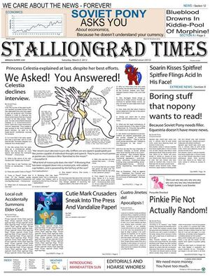 Stalliongrad Times Issue 1