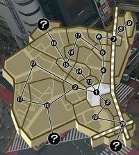 Shibuya Map - Scramble Crossing