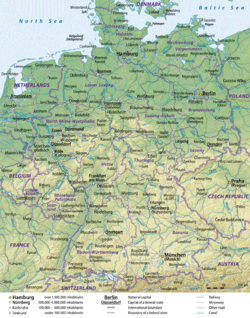 GermanyMap