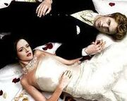 Bella and Edward breaking dawn