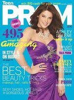 Ashley greene on cover of Prom