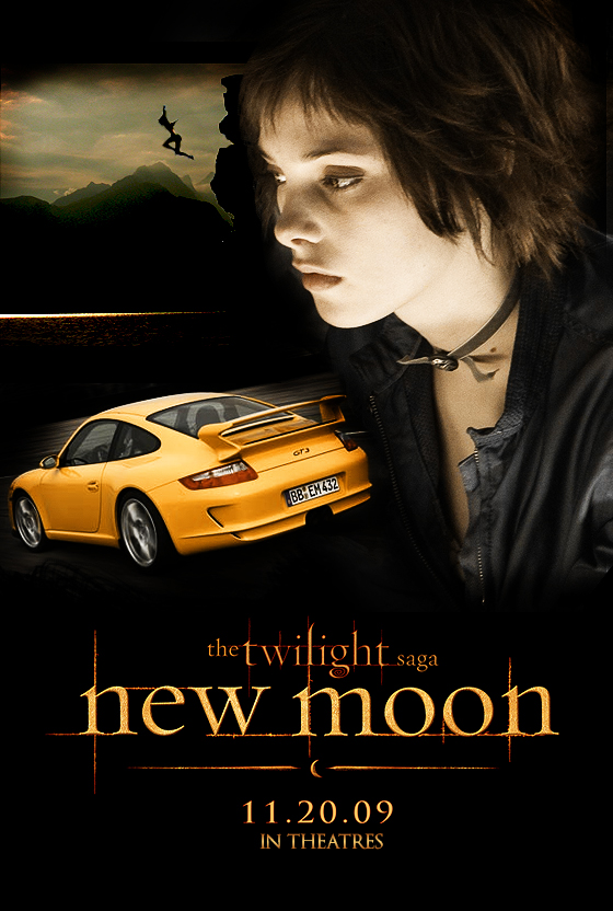 New Moon Poster Alice Cullen by thaisrods