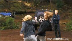 Rosalie and Jasper fighting