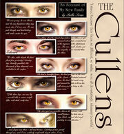 The Cullens Eyes