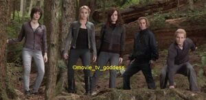 The Cullens tracking Victoria