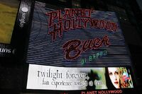 Planet Hollywood Marquee