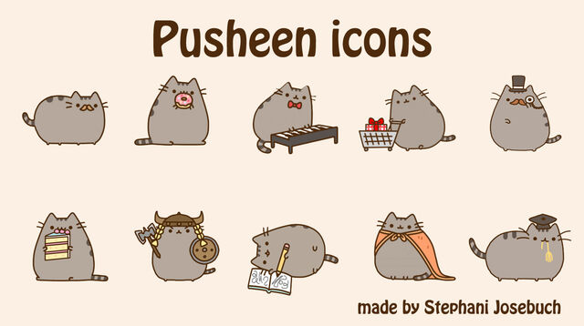 File:Pusheen icons by stephani josebuch-d5qilb1.jpg
