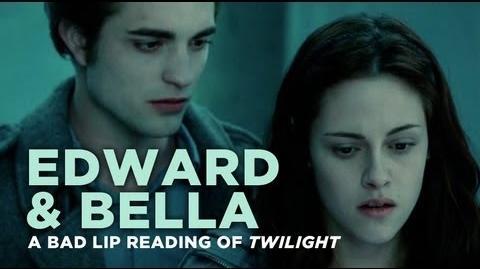 """Edward and Bella"" — A Bad Lip Reading of Twilight"