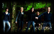The Cullens Eclipse by zsorzset